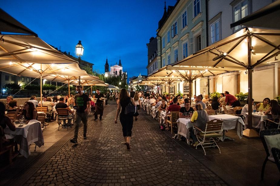 Ein Spaziergang durchLjubljana