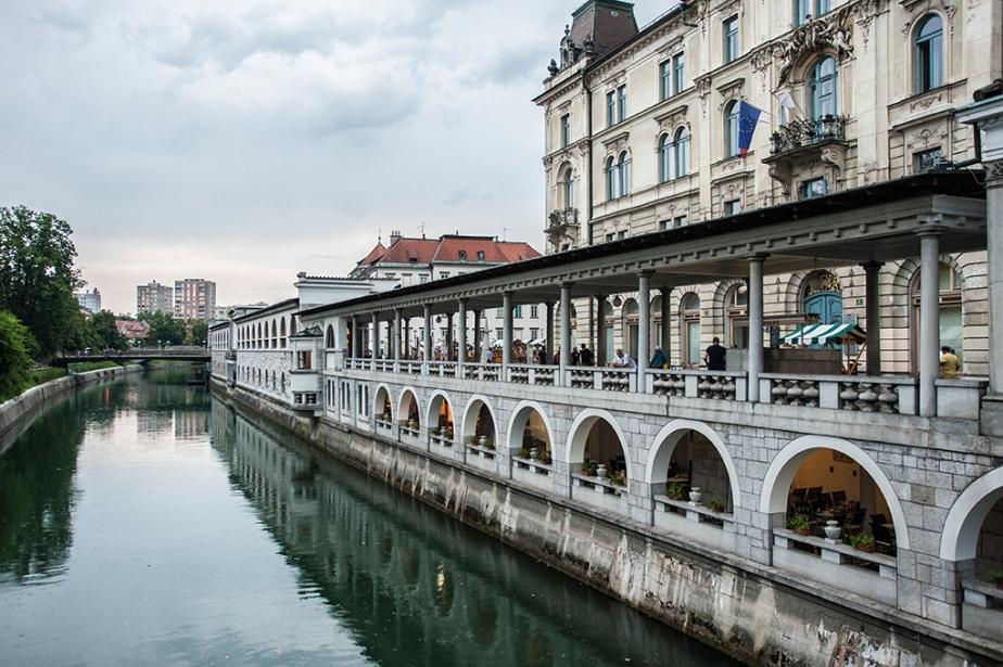 Ljubljana zu Fuß und durch die Linseerkunden